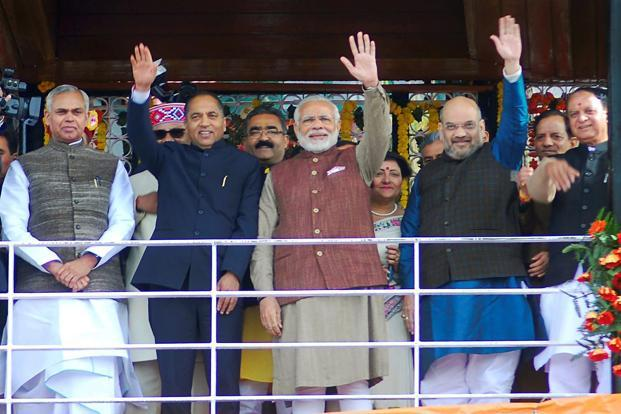 Jairam Thakur appointed as Himachal Pradesh Chief Minister
