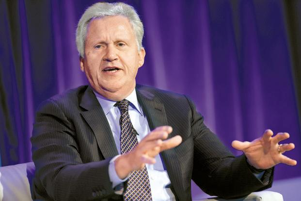 Jeff Immelt, former CEO of GE. Photo: Bloomberg