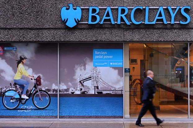 Barclays expects $1.3 billion write-down from USA tax reform