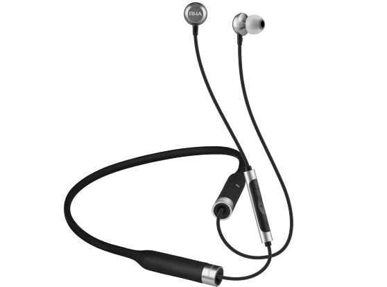 In terms of design, RHA's MA650 Wireless is an all-aluminium finish on the earpieces and have a slightly angled design to improve the in-ear fit.