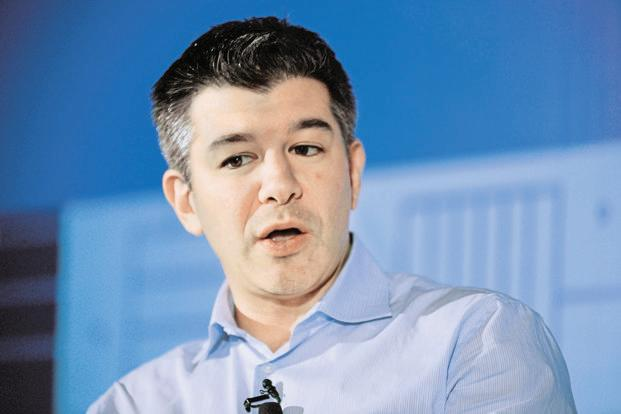 Travis Kalanick, former CEO of Uber. Photo: Pradeep Gaur/Mint