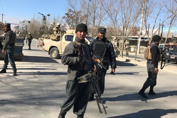Boris Johnson condemns 'despicable' terror attack in Kabul which killed dozens