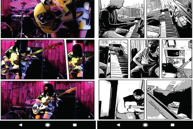 Storyboard can extract photos out of videos and arrange them like a comic book.