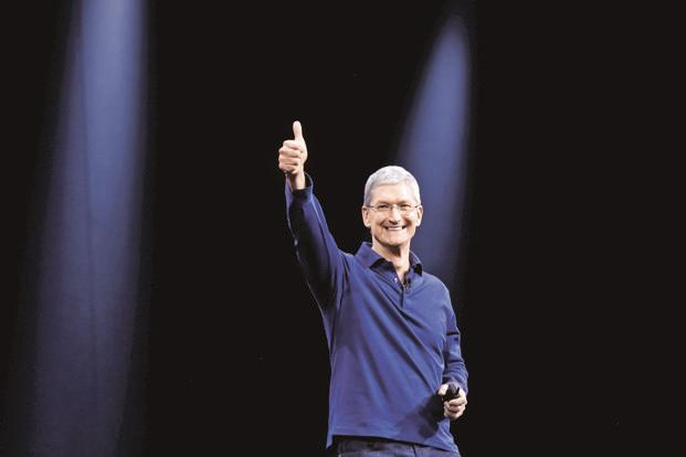 Apple CEO Tim Cook's incentive pay totaled $9.33 million for the year ended 30 September. Photo: Reuters