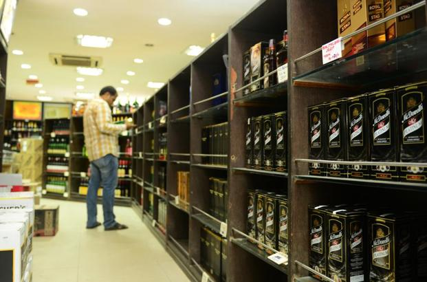 United Spirits stock closed 1.03% up at Rs3,671.15 apiece on BSE on Friday. Photo: Ramesh Pathania/Mint