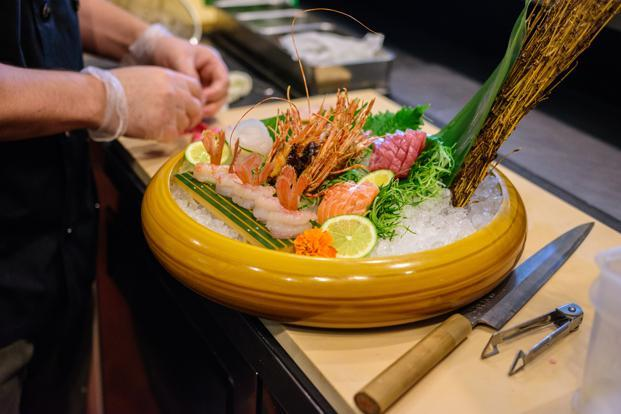 The concept of omakase finds its roots in Japan where one would typically go to a sushi restaurant and allow the chef to prepare a meal from the freshest ingredients he has that day. Photo: iStock