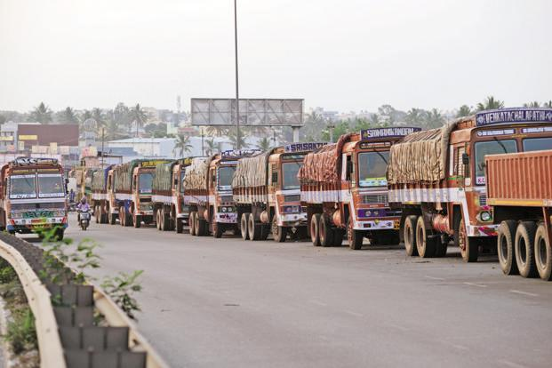 From 1 February, an e-way bill will have to be generated for all movement of goods—within or outside a state—amounting to more than Rs50,000 by prior online registration of the consignment. Photo: Hemant Mishra/Mint