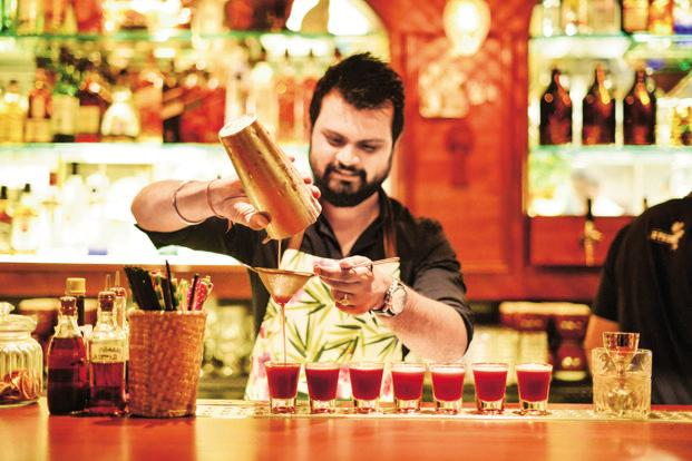 Bars and restaurants with liquor licences saw a revival after August, when the apex court partially lifted the highway ban on the sale of alcohol. Photo: Aniruddha Chowdhury/Mint
