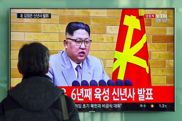 North Korean leader begins new year with threats against US