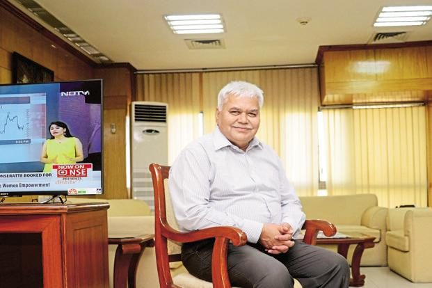 A file photo of Trai chairman R.S. Sharma. Photo: Mint/Ramesh Pathania