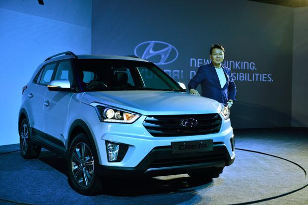 Hyundai Motor India reported a 10% increase in total sales at 62,899 units in December. Photo: Pradeep Gaur/Mint