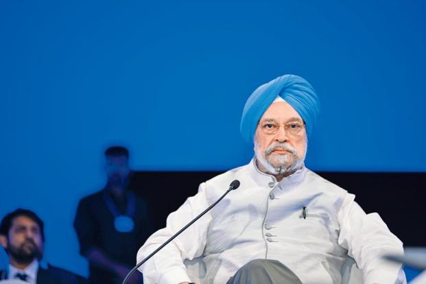 Union housing and urban affairs minister Hardeep Singh Puri. Photo: Ramesh Pathania/Mint