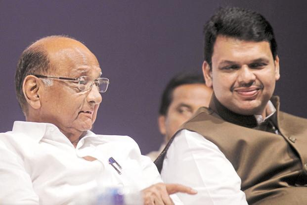 NCP chief Sharad Pawar demanded that the Devendra Fadnavis government should probe the incidents of violence during the event to mark 200th anniversary of the Bhima-Koregaon battle in Pune district. Photo: Hindustan Times