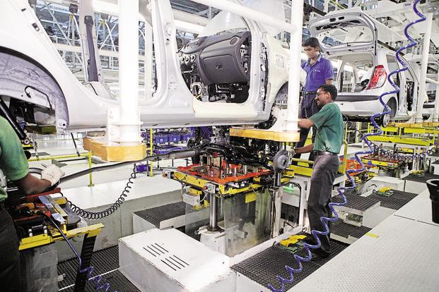 The Nikkei Manufacturing purchasing managers' index (PMI), compiled by IHS Markit, rose from 52.6 in November to 54.7 in December, the highest in five years. Photo: HT