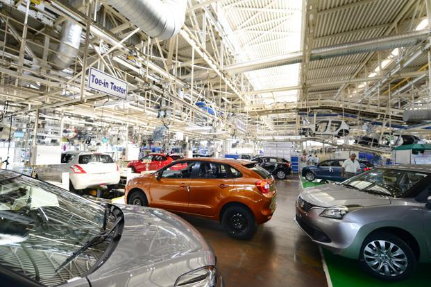 The Maruti Suzuki plant at Manesar. Maruti Suzuki is really a case off going from strength to strength, though how it handles the coming challenge of electric vehicles could test its mettle. Photo: Ramesh Pathania/Mint