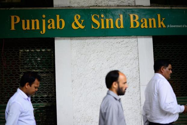 Stock of Punjab & Sind Bank closed 1.03% down at Rs48.20 apiece on BSE. Photo: Pradeep Gaur/Mint