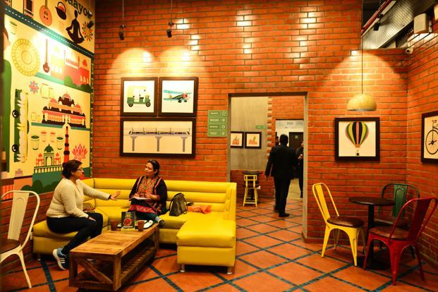 No two Chaayos cafes have the same decor.