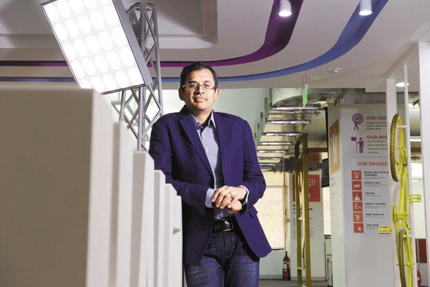 Myntra CEO Ananth Narayanan. Myntra, which already has a small office in Silicon Valley through its acquisition of San Francisco-based startup Fitiquette, will put a separate team in place in the US. Photo: Hemant Mishra/Mint