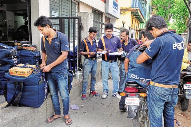 eKart, controlled by Instakart Services, was started by Flipkart as an in-house logistics business and later spun off due to regulatory hurdles. Photo: Indranil Bhoumik/Mint