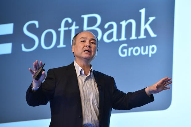 Masayoshi Son has been an unstoppable force in the technology world over the last year. Photo: AFP