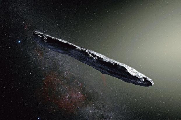 Cigar from outer space livemint an artists impression of the interstellar asteroid oumuamua afpeuropean southern observatory voltagebd Image collections