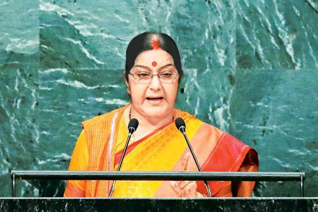Sushma Swaraj urges NRIs to come back