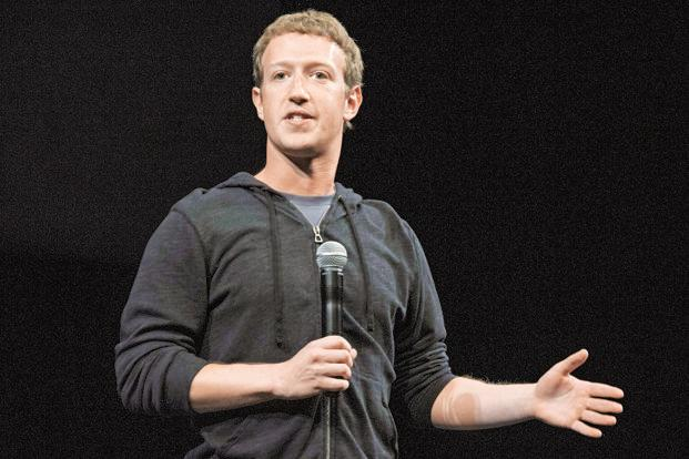 Mark Zuckerberg referenced cryptocurrencies in a posting on Thursday in which he laid out how he will spend 2018 trying to correct persistent problems that have dogged Facebook for the past two years. Photo: Bloomberg