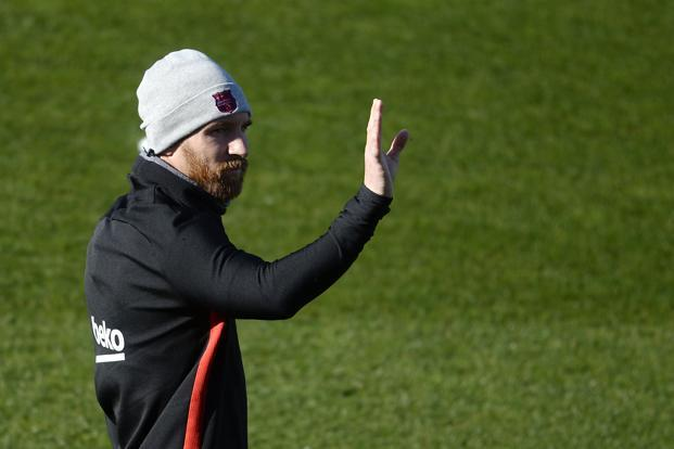 Lionel Messi's insistence on a get-out clause in case Catalan secession means he can't compete in major-league sport is the latest symbolic twist to emerge from the region's independence push. Photo: AFP