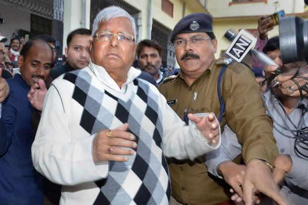 Fodder Scam: Lalu Prasad Yadav to be Sentenced Today
