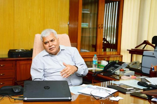 Trai chairman R.S. Sharma seems to believe he has solved most of the troubling issues in the telecom sector in the past two years. Photo: Ramesh Pathania/Mint