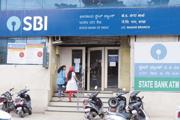 Shares of SBI were trading 0.44% higher at Rs307.55 on BSE. Photo: Hemant Mishra/Mint