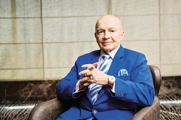 Mark Mobius, executive chairman, Templeton Emerging Markets Group. Photo: Aniruddha Chowdhury/Mint