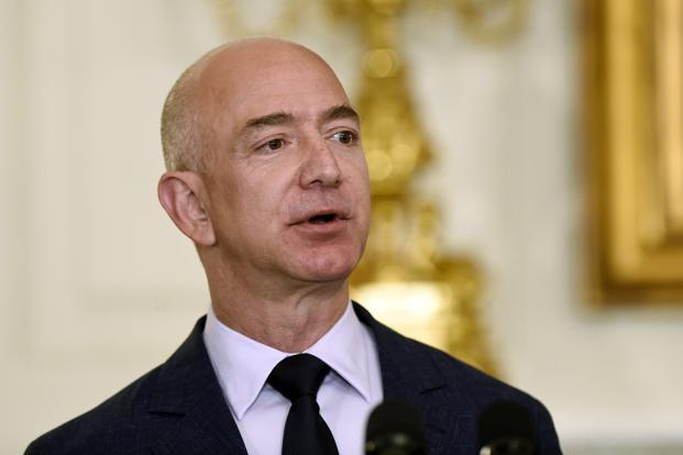 The latest jump has pushed Jeff Bezos's fortune definitively above the high reached by Microsoft Corp.'s Bill Gates in 1999. Photo: AP