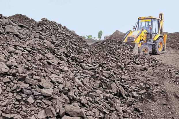 Coal India shares closed 5.63% higher at Rs304.05 on BSE, while the Sensex ended 0.26% higher at 34,443.19 points. Photo: AFP