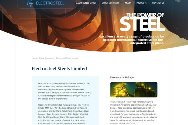 Electrosteel is one of the 12 companies referred to the National Company Law Tribunal (NCLT) for insolvency proceedings.