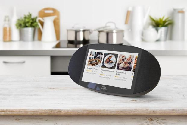 Google is working on Smart Displays, which will directly complete with the latter's Alexa-powered Echo Show.