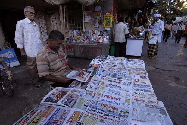 The survey is critical to advertisers as it helps them decide which print publications to advertise in. Photo: Abhijit Bhatlekar/Mint