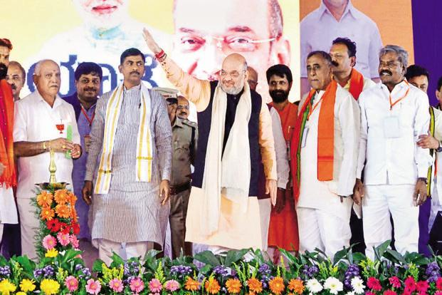 Congress government in Karnataka is 'Hindu Virodi': Amit Shah