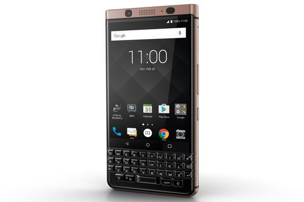 Blackberry announced a bronze coloured variant of the KeyOne smartphone at the CES.