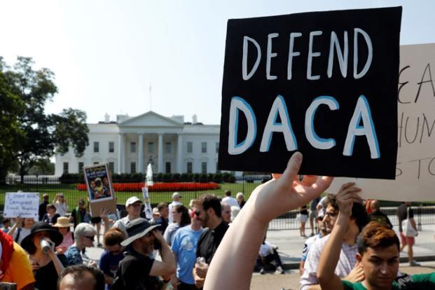 USA  judge blocks Trump move to end DACA program for immigrants