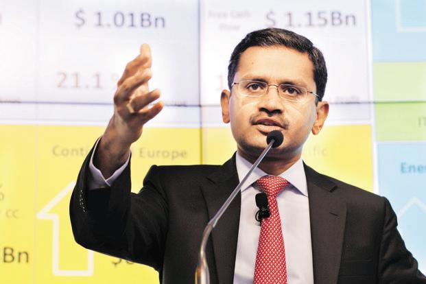 Rajesh Gopinathan chief executive of Tata Consultancy Services