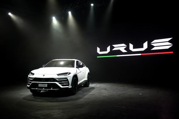 Like other Bologna-made cars, the Lamborghini Urus will be imported to India as a CBU, with no plans for production or assembly in India. Photo: Abhijit Bhatlekar/Mint