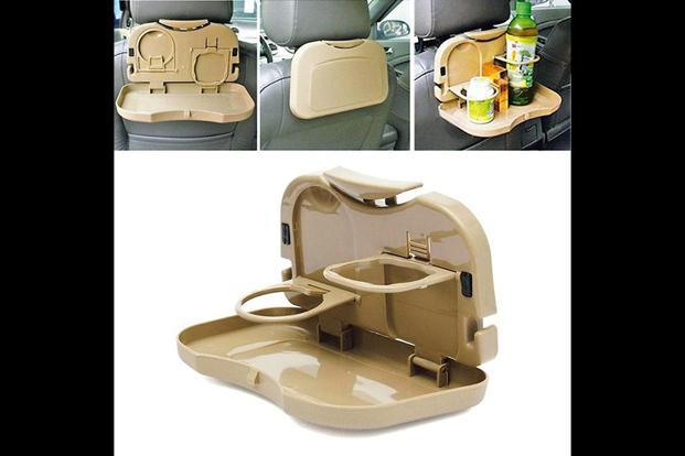 Car seat dining tray by PropShop