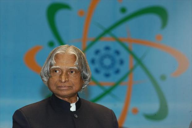 File photo of APJ Abdul Kalam. Photo: HT