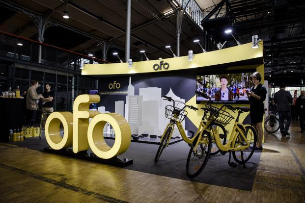 Founded in 2014, Ofo has operations in over 250 cities across 20 countries with over 200 million global users. Photo: Bloomberg