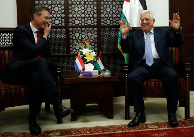 Palestinian leaders urge PLO to suspend recognition of Israel
