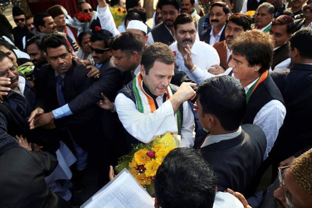 Rahul promises food park in Amethi
