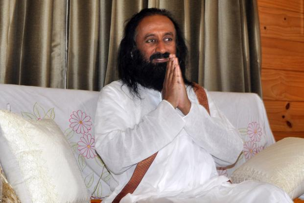 Sri Sri Ravishankar, founder of Sriveda Sattva. The firm seeks to  accelerate growth offline when rival Patanjali is banking on the e-commerce channel. Photo: HT