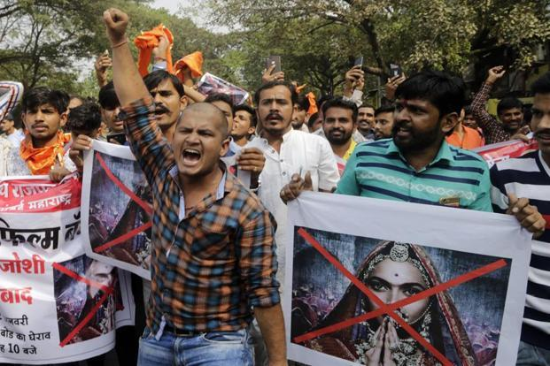 "Haryana minister Anil Vij had alleged that film director Sanjay Leela Bhansali had wrongly presented historical facts in the movie to ""defame"" the image of Rani Padmavati and this had hurt the sentiments of lakhs of people. Photo: AP"