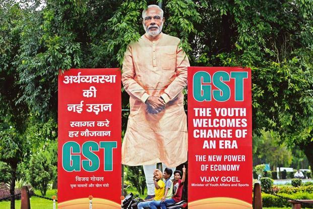 GST was rolled out from 1 July 2017 by subsuming most of the central and state indirect taxes into a single tax but petroleum products were kept outside its purview. Photo: Reuters